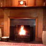 Fireplace at Kildermorie Lodge