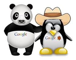 google pets penguin panda