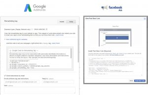 adwords facebook conversion retargeting pixel