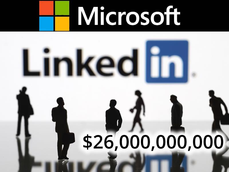 Microsoft to buy Linkedin 1