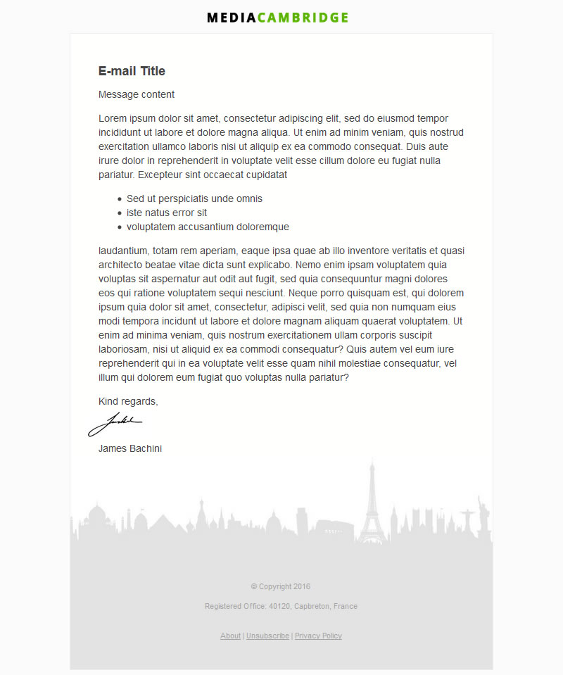 Beautiful Email Template [Download] 6