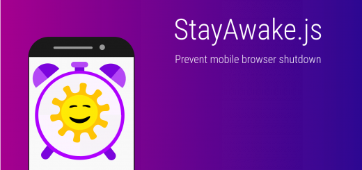 Preventing Mobile Browsers From Turning Off 1