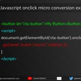 micro conversion example