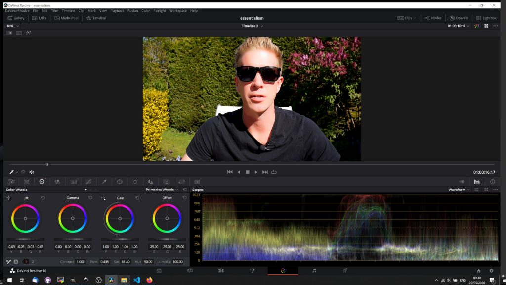 DaVinci Resolve Video Ads