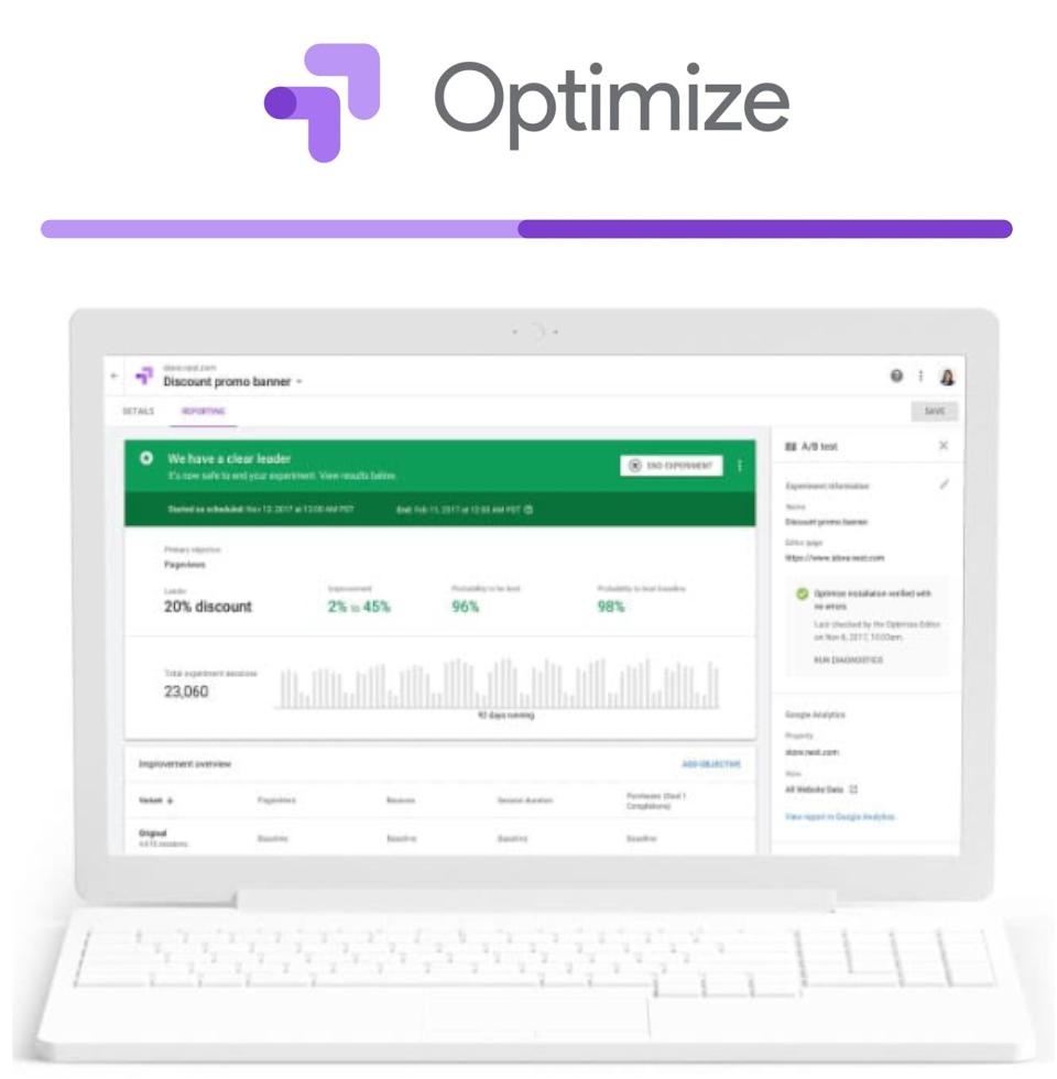 CRO Google Optimize