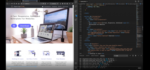 Vanilla HTML | No. 1 Free HTML Boilerplate 13
