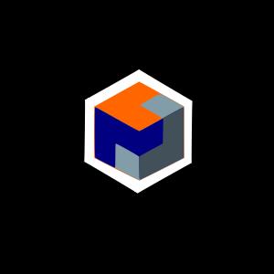 QR Code Design Logo
