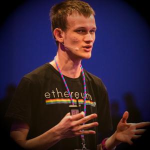 Vitalik Buterin the creator of Ethereum