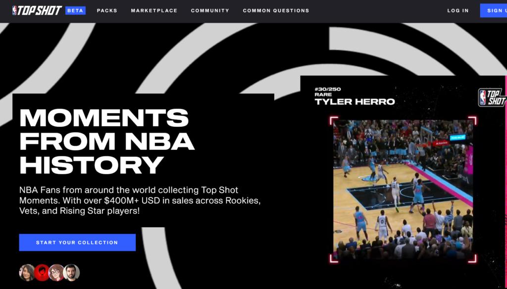NBA Top Shot NFTs