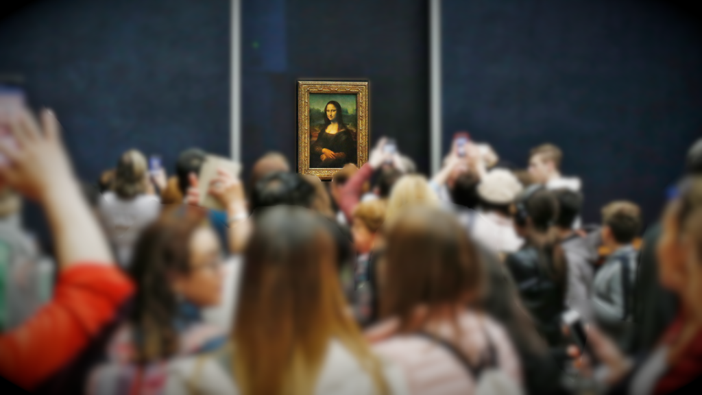The Mona Lisa @ The Lourve Paris
